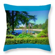 School Outing Throw Pillow