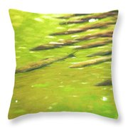 School Time Throw Pillow