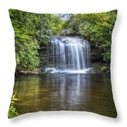 Schoolhouse Falls Throw Pillow