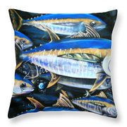 Schoolies Throw Pillow