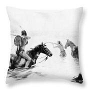 Schreyvogel: Stand Off Throw Pillow