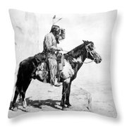 Schreyvogel: The Scout Throw Pillow