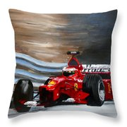 Schumacher Monaco Throw Pillow