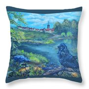 Schwabach Statthalter Throw Pillow