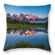 Schwabacher Alpenglow Throw Pillow