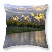 Schwabacher Landing 12 Throw Pillow