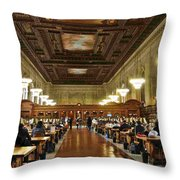 Schwarzman Building Throw Pillow