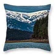 Schweitzer Mountain Resort Throw Pillow