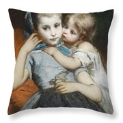 Schwestern Throw Pillow