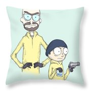 Schwifting Bad  Throw Pillow