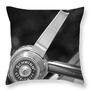 Schwinn Stik-shift Throw Pillow