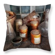 Science - Chemist - Ready To Experiment Throw Pillow