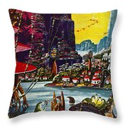 Science Fiction Cover, 1941 Throw Pillow