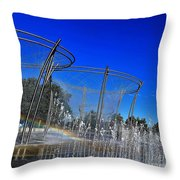 Scioto Waterfall Throw Pillow