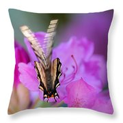 Scissorwings Throw Pillow