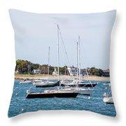 Scituate Harbor Throw Pillow