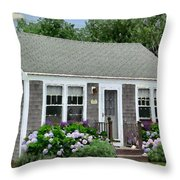 S'conset Hut 1 Throw Pillow