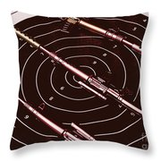 Scopes Of Military Precision  Throw Pillow