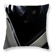 Scoping The Scene Throw Pillow