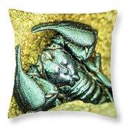 Scorpio Throw Pillow