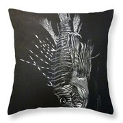 Scorpion Fish Throw Pillow