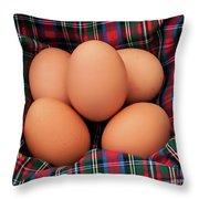 Scotch Eggs Throw Pillow