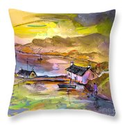 Scotland 11 Throw Pillow