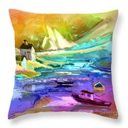 Scotland 15 Throw Pillow