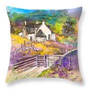Scotland 16 Throw Pillow