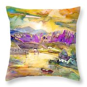 Scotland 19 Throw Pillow