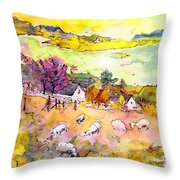 Scotland 20 Throw Pillow
