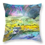 Scotland 21 Throw Pillow