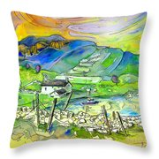 Scotland 23 Throw Pillow