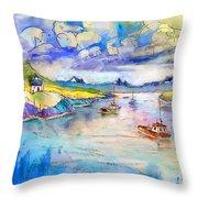 Scotland 26 Throw Pillow