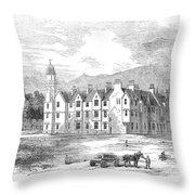 Scotland: Balmoral Castle Throw Pillow