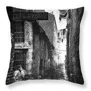Scotland: Glasgow, 1868 Throw Pillow