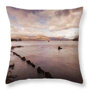 Scotland Landscape Throw Pillow