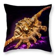 Scorpion Shell Throw Pillow