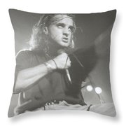 Scott Stapp Of Creed Throw Pillow
