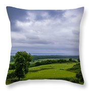 Scottish Countryside 1 Throw Pillow