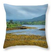 Scottish Cove Throw Pillow