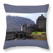 Scottish Home Throw Pillow