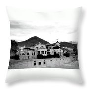 Scotty's Castle II Throw Pillow