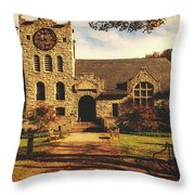 Scoville Memorial Library - Salisbury, Connecticut Throw Pillow
