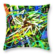 Scramble #e Throw Pillow
