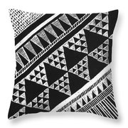 Scratch Kapa  Throw Pillow