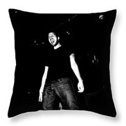 Screaming Throw Pillow