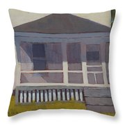 Screened Porch - Art By Bill Tomsa Throw Pillow