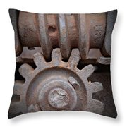 Screw And Gear  Throw Pillow