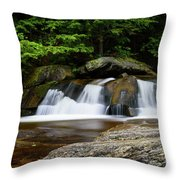 Screw Auger Falls Upper 2 Throw Pillow